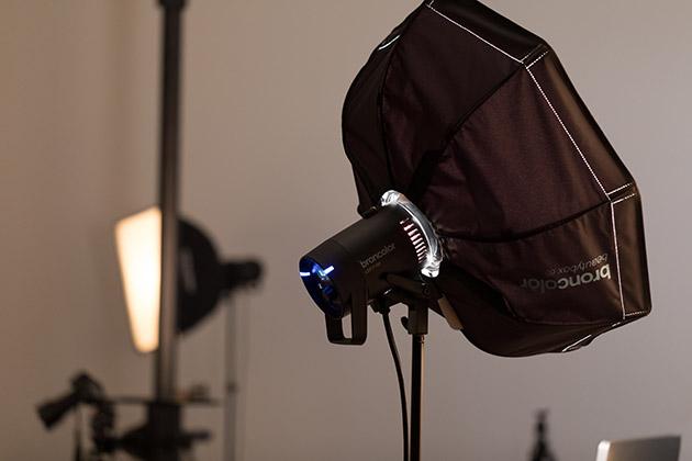 Eclairage professionnel pour shooting photo