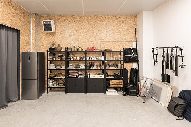 Equipement mis à disposition chez Oskar Studio