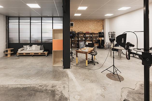 Studio tout équipé pour tournage
