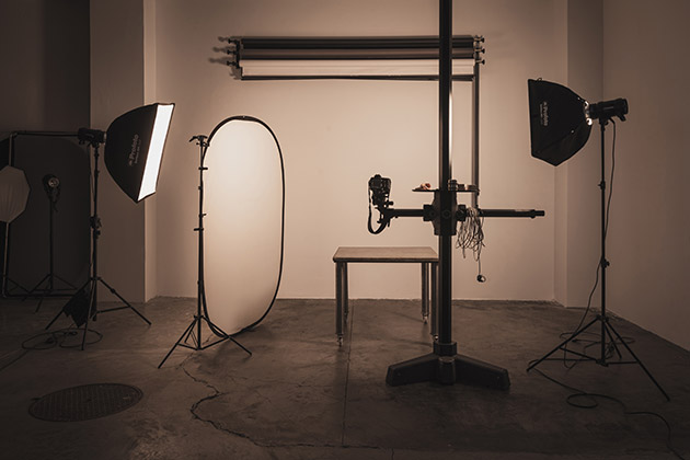 Eclairage et matériel photo professionnel pour shooting photo ou tournage